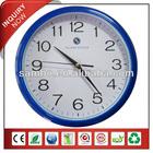 Blue frame white background clock