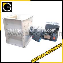 Rotary feeder &pneumatic transport tube system