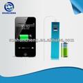 Para el iphone 5/tabletas regalo de bienvenida palo smart cargador de móvil, 2600 mah usb stick smart cargador de móvil, cargador portátil de fábrica