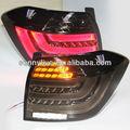 Año 2011-2013 highlander kluger full led cola luz trasera de la lámpara para bmw estilo de negro de humo de color v3
