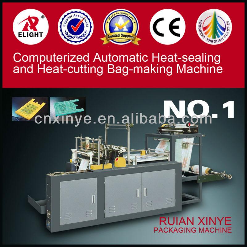 Hot-sealing and Hot-cutting Plastic Bag Making Machines