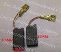 Herramientas eléctricas de piezas de repuesto cepillo de carbono hilti te14 te15 te15c te18 te24 te25 te104 6.3*10*19mm