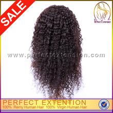 Para as mulheres brancas 120% densidade brasileira onda remy cabelo cheio laço peruca feminina