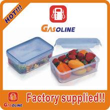 Super quality creative custom pp plastic food box with lid