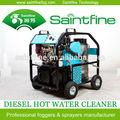 Água quente jato de água máquina de limpeza