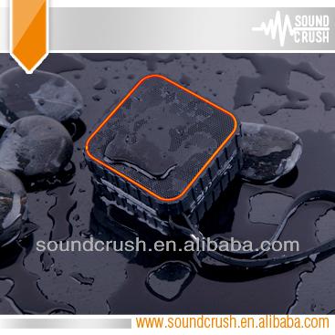 Rubberized cara membuat speaker aktif mini best wireless speakers made in China mini Waterproof IPX5 bluetooth speaker