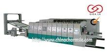 GIGA LX CNC USED man-machine interface on 3 mixcolor auto cardboard box machine