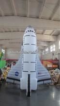 inflatable bouncer venture play Space Shuttle roket boys theme new design OEM
