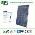 Smart home produtos verdes! 95 watts painel solar policristalino fabricados na china suppier