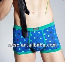 Fashion Design Male Underwear Boxer Trunk Modal Underwears Men U Convex Pouch Brief Shorts