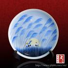 Jingdezhen factory direct OEM ceramic decorative plate crafts