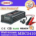 7 stages automatic battery charger 24v 10a with CE certificate, can repair damaged batteries