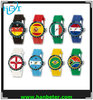 2014 promotional colorful world cup gift souvenir flag watch for brazil