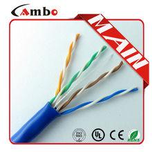 305m/Plastic Reel/Carton Network Cat.5e PVC FR/PVC or LSOH Jacket