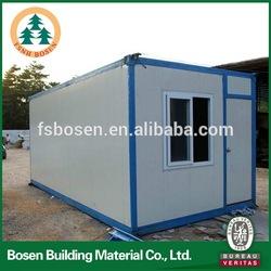 eco-friendly prefab container house design