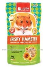 Plastic cricetinae feed pouch/Animal feeding bag/Pet food bag