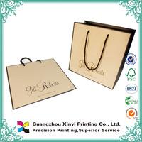 customized kraft paper bag/packaging bag manufacturer Dongguan