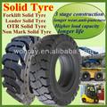 Bem- renome 6.00-9 10-16.5 industrial carregadeira empilhadeira pneus sólidos( vários tamanhos)