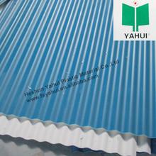 Plastic UPVC corrugated PVC roof tiles
