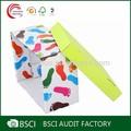 bebé de alta calidad caja de zapatos de fabricación de envases en shanghai