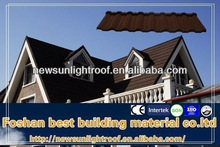 Modern Classical Tile Stone Coated Steel Roofing Tile