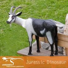 Outdoor Fiberglass Goat Resin Animal Statue