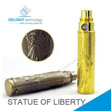 El más reciente 2014 cigarrillo electrónico ego de la batería, la estatua de la libertad de la batería de la venta caliente en estados unidos