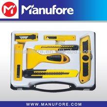 7pcs cutting knife tool set, cheap, sharp cutting tool kit