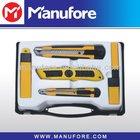 6pcs cutting knife tool set, cheap, 6pcs sharp cutting tool kit