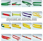 wire rope sling Heavy duty pipe and nylon lifting slings 100% high tenacity polyester