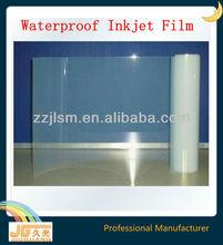 100micron Inkjet Printable PET Waterproof Transparency Film