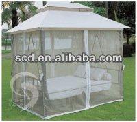 comfortable garden swing bed