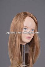 mannequin head practice hair