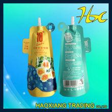 carry plastic bag plastic packing pouches clear plastic spout bag