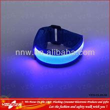 2014 Blue LED Nylon Material Bracelet For Women