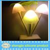 Magic! silicone Marshroom design small LED Night lamp for kids with sensor