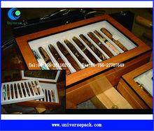 custom wood pen box for storage