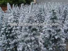 5FT Snow Flocking PVC Christmas trees