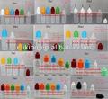 2ml-120ml pe garrafa de plástico para o líquido e sabor de suco com childproof e inviolável tampa de vedação