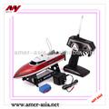 Brand doppio cavallo 7.009 4ch velocità rc modello di barca con 370 a motore e Nuova servo sistema