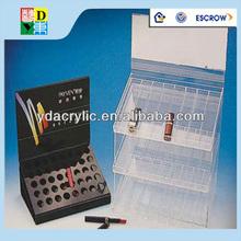 Customized acrylic make up /nail polish/comestic display stand