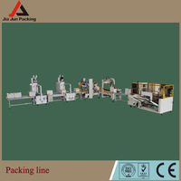 Good quality carton box packing line