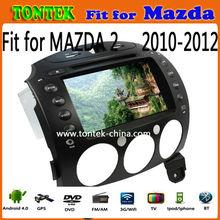 2 din android mazda 2 navigation system car radio dvd player