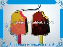 Free Sample New car flavour & fragrance hanging paper car air freshener