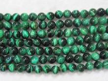 Natural gemstone Green Tigereyes round beads decoration beads strings