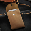 Fashion strap leather phone bag for samsung galaxy s3 i9300 , for s3 bag , mobile phone bag