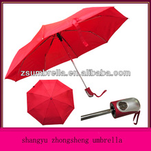 3 fold umbrella auto open and close
