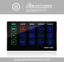 Home automation Bedroom Bedside Simple Wall Touch Control Panel for hot sales