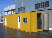 Prefab container house for living accommodation
