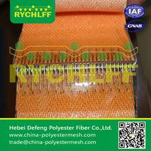 desulfurization filter mesh /Gypsum desulfurization filter belt for power plant/filter cloth for horizontal be